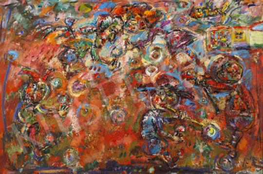 Eladó  Tóth Ernő - Álomkergető, 1999-2000 festménye
