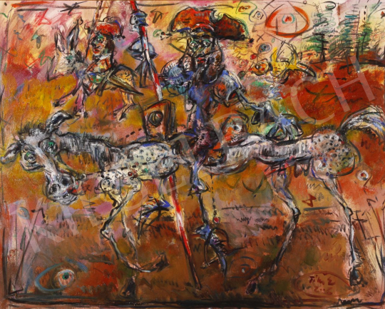 For sale  Tóth, Ernő - Don Quijote, 2003 's painting