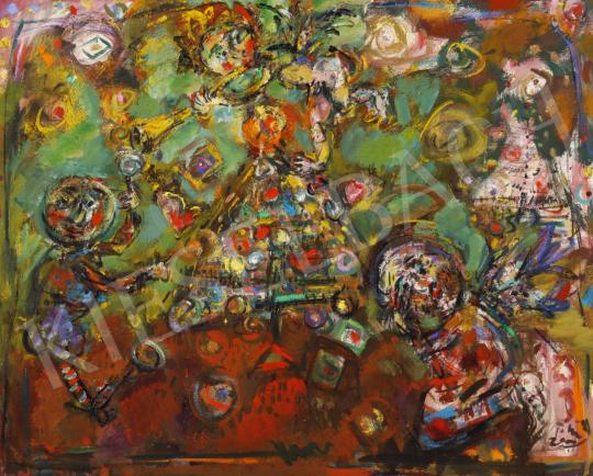Eladó  Tóth Ernő - Ünnep, 2006 festménye