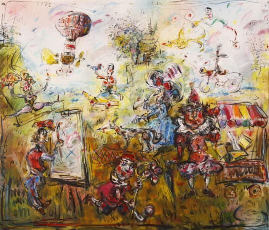 Eladó  Tóth Ernő - Majális, 2003 festménye