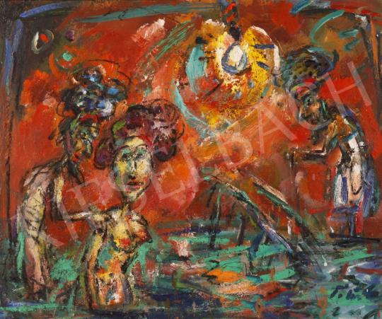 Eladó  Tóth Ernő - Zsuzsánna és a vének, 2001 festménye
