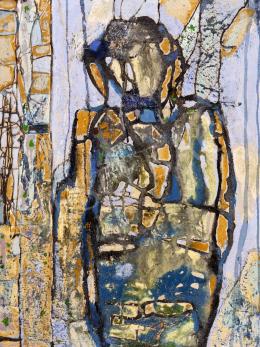 Scholz Erik - Figura a szabadban, 1993