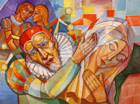 Eladó  Józsa János - Rigoletto festménye