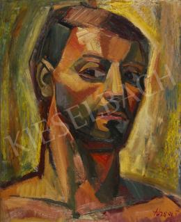 Józsa, János - Self-Portrait Outdoors, 1965