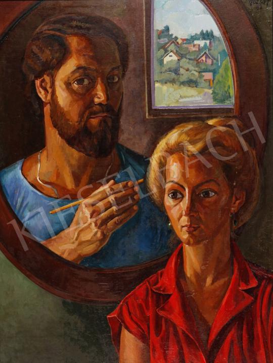 For sale  Józsa, János - Double Portrait, 1983 's painting