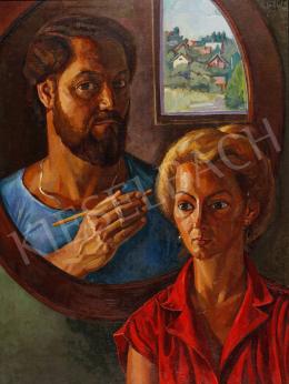 Józsa, János - Double Portrait, 1983