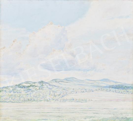 Eladó  Hoppe István - Pomázi domb, 1938 festménye