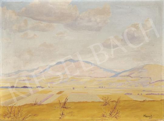 Eladó  Hoppe István - Határban festménye