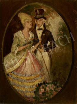 Ismeretlen festő, 1920-as évek - Randevú