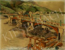 Ismeretlen festő - Hídfelújítás