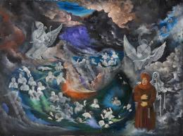 Ismeretlen festő Deserius jelzéssel - Holtak tengere