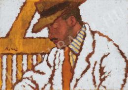 Rippl-Rónai József - Somssich gróf portréja, 1910-es évek eleje