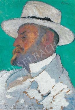 Rippl-Rónai József - Testvérem, Ödön (Ödön öcsém), 1906