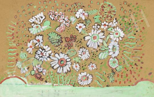 Eladó  Kocsonya Gábor - Virágrengeteg festménye