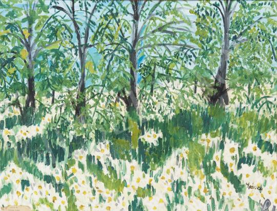 Eladó  Spáczay Aranka - Tavasz II. festménye