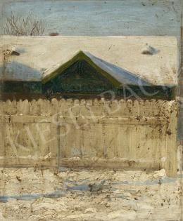 Ismeretlen magyar festő, 1910 körül - Tél
