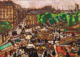Rippl-Rónai József - Városi forgatag, 1914 körül