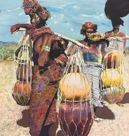 Konkoly Gyula - Afrikai asszonyok, 2001