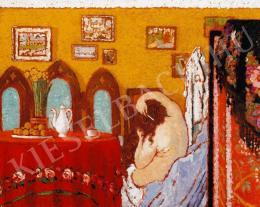 Rippl-Rónai József - Fésülködő nő, 1909