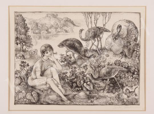 Eladó  Szabó Vladimir - Álmodozás festménye