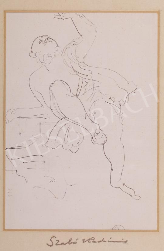 Eladó  Szabó Vladimir - Ég felé forduló festménye