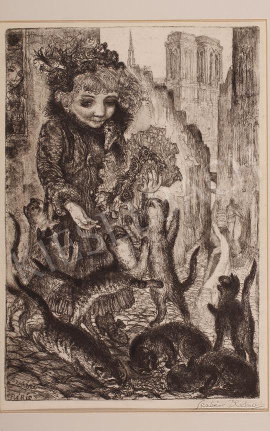 Eladó  Szabó Vladimir - Páris, 1962 festménye
