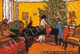 Rippl-Rónai József - Karácsony, 1910 körül
