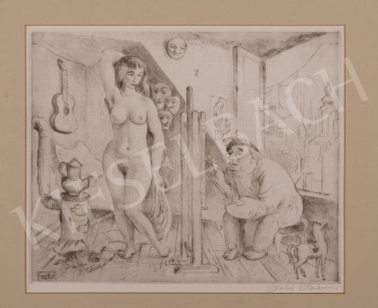 For sale  Szabó, Vladimir - Painter, 1988 's painting