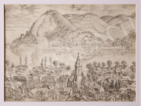 Eladó  Szabó Vladimir - Nagymaros festménye