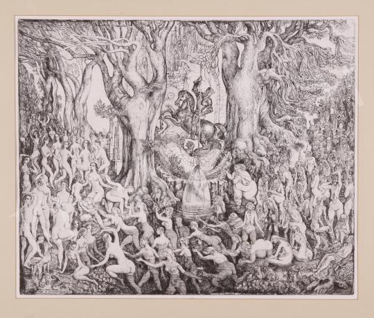 Eladó  Szabó Vladimir - Legenda a csodaforrásról festménye
