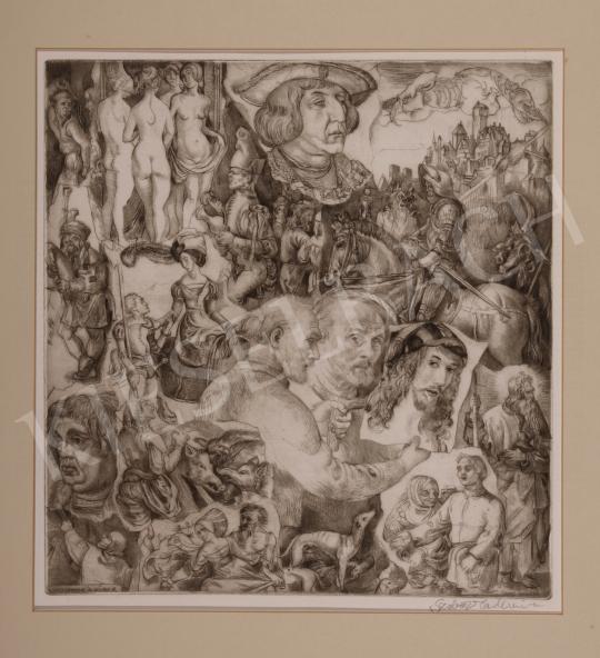 For sale  Szabó, Vladimir - Hommage a Dürer 's painting