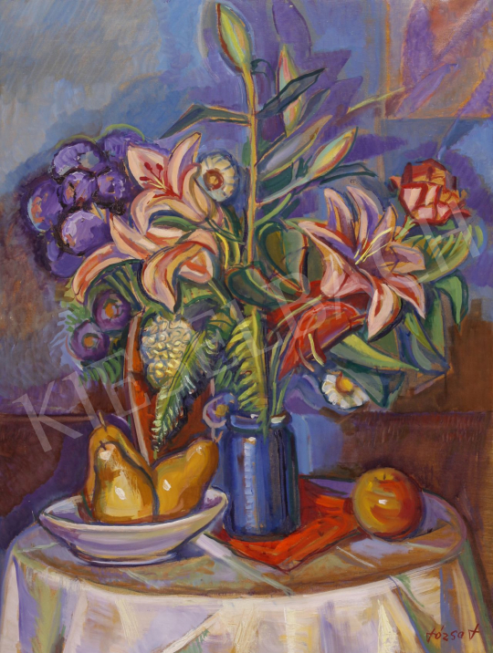 Eladó  Józsa János - Virágcsendélet festménye
