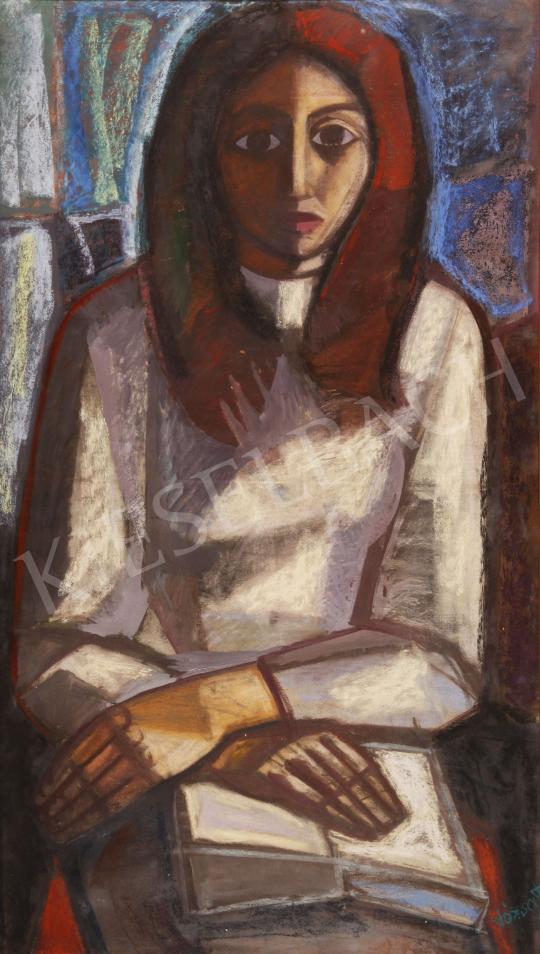 For sale  Józsa, János - Zsuzsa, 1965 's painting