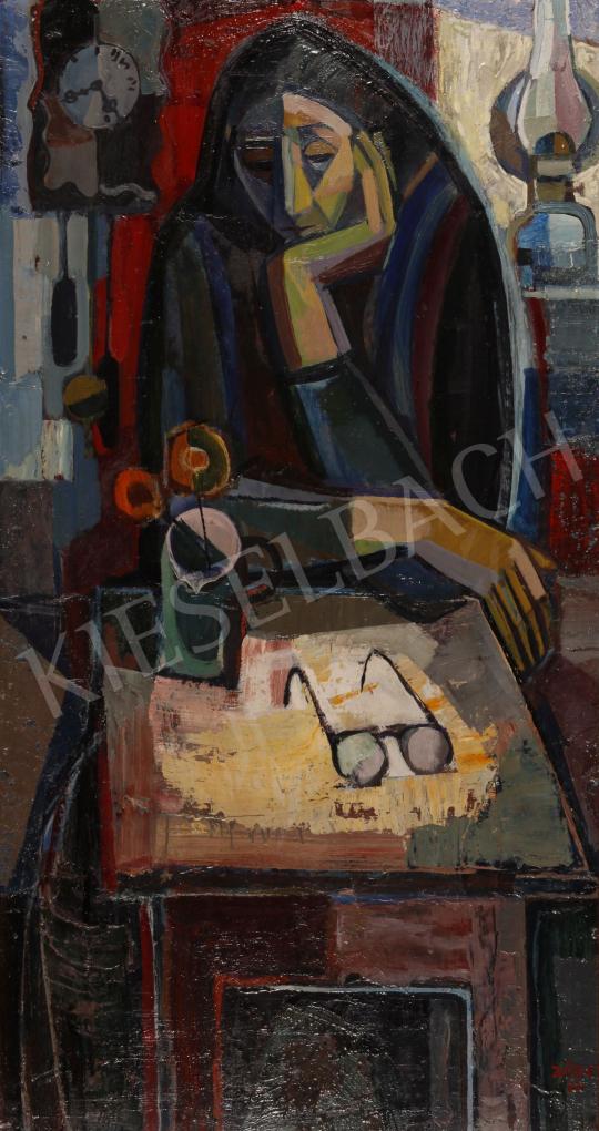 Eladó  Józsa János - Magány, 1967 festménye