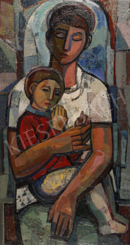 Józsa, János - Mother and Son