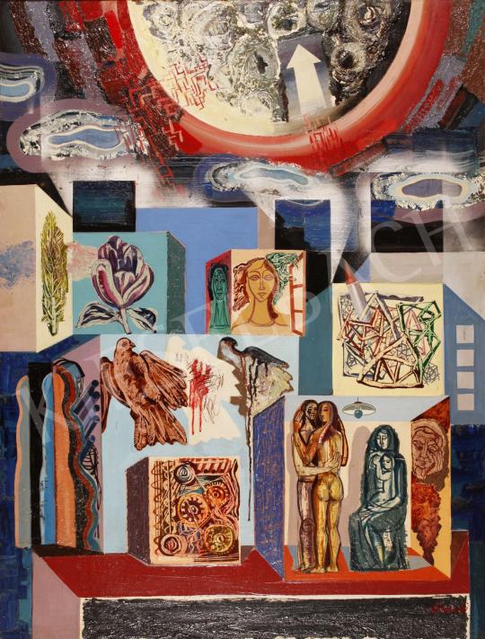 Eladó  Józsa János - Korunk I., 1975 festménye
