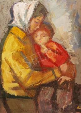 Józsa János - Anya gyermekével, 1957