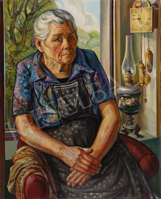 For sale  Józsa, János - Mother, 1980 's painting
