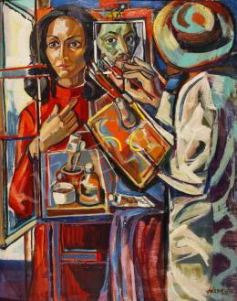 Józsa János - Festő, 1976