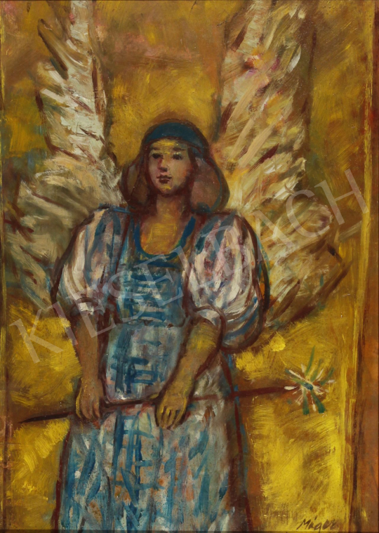For sale  Máger, Ágnes - Angel, 1986 's painting