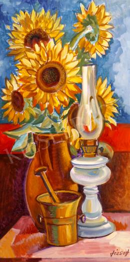 Józsa, János - Still-Life with Sunflowers