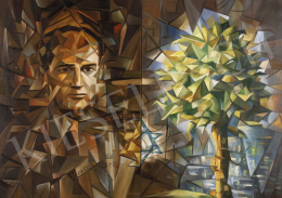 Zalubel, István - Portrait of Raoul Wallenberg