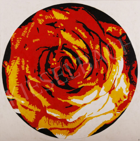 For sale Orvos, András - Bio Decorative Rose, 2011 's painting