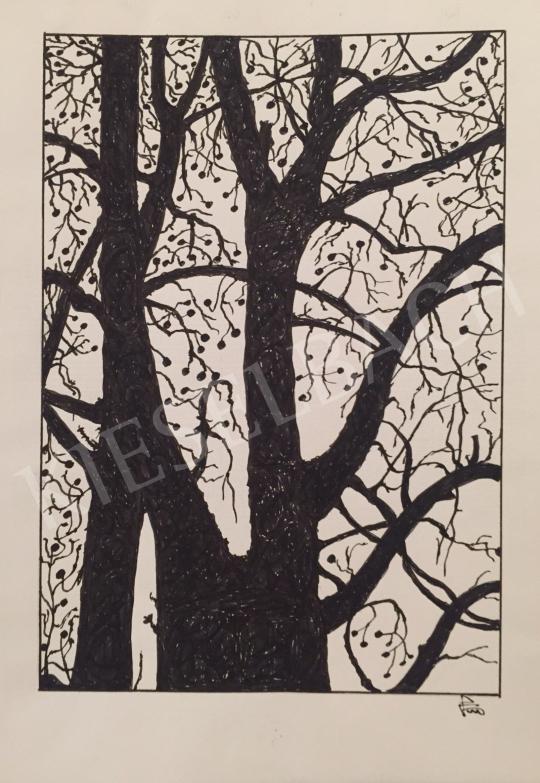 Eladó  Porscht Frigyes - Diófa, 2000 festménye