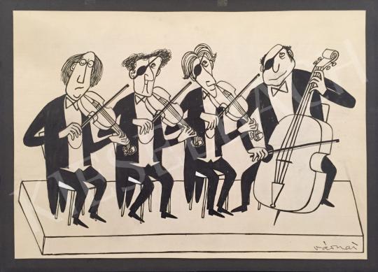 For sale  Várnai, György (Várnay György) - String Quartet 's painting