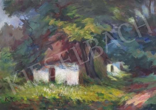 Eladó Kántor Antal - Szadai házak festménye