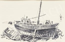 Ék, Sándor (Alex Keil) - Fishing Boat on Lovra