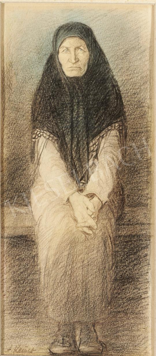 Eladó  Ék Sándor - Édesanyám festménye