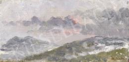 Ék, Sándor (Alex Keil) - Landscape at Hármashatár-hegy