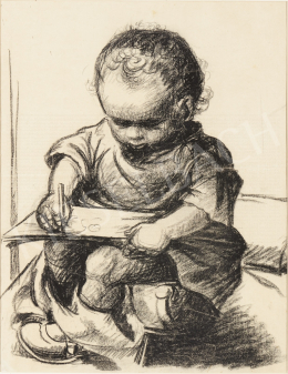 Ék, Sándor (Alex Keil) - Drawing Boy